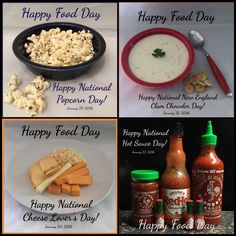 Follow and like us on Facebook @HappyFoodDay