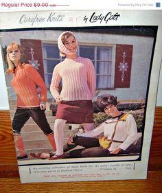 ON SALE Vintage 60's Fashion Crochet by PopcornVintageByTann