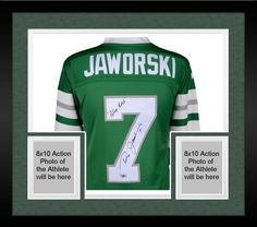 4b7b272e45f Pro Football · Autographed Ron Jaworski Eagles Jersey Fanatics Authentic  COA Item#8461740 Ron Jaworski, Eagles Jersey