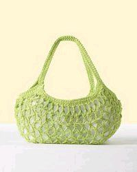 Free crochet pattern. Anytime market bag. I'll try this as my next plarn bag.