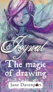 Draw Fairies and Mermaids Jane Davenport - Art Journal pages http://www.janedavenport.com
