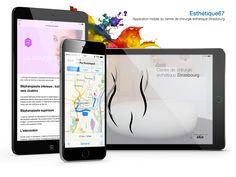 Application mobile iOS du centre de chirurgie esthétique Strasbourg