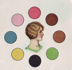 Simple 1930 Color Harmony Tool----The-Blonde-haired-girl