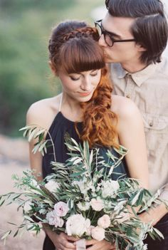 Love | Kiss | Bouquet | Romantic Elopement