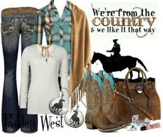 Love the whole out fit I'd defiantly wear it more than just to the fair and rodeo.