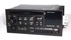 1998 Chevy Cavalier Radio AM FM CD Player w Upgraded Aux mp3 3.5mm Input on Face
