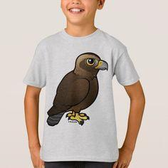Shop Golden Eagle T-Shirt created by birdorable. Back Ground Iphone, Eagle Bird, Red Tailed Hawk, Golden Eagle, Cute Birds, Beautiful Birds, Animal Drawings, Cute Cartoon, Animal Photography
