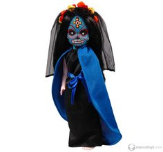 Mezco Toyz Living Dead Dolls Days of the Dead Series 20 Santeria Halloween Doll, Halloween Horror, Spirit Halloween, Halloween Ideas, Creepy Baby Dolls, Living Dead Dolls, Gothic Dolls, Valley Of The Dolls, Doll Parts