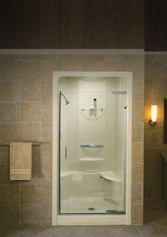 Acrylic And Fiberglass Bathroom Showers By Maax MTI Aker