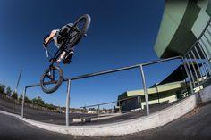 Garrett Reynolds toothpick in his latest bmx street edit for Red Bull on @boardaction