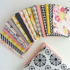 Woodberry Way: Swoon Along with a Pink/Yellow/Black Fabric Pull