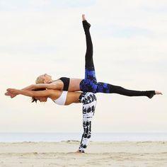 Image result for partner aerial yoga