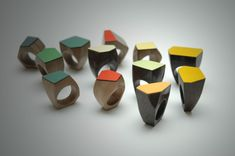 formica rings by eric de gesincourt
