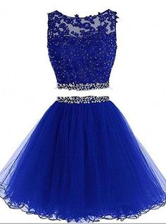 Sexy prom dress,charming prom dresses,appliques prom gown,two piece prom dress Two Piece Homecoming Dress, Prom Dresses Two Piece, Cute Prom Dresses, Homecoming Dresses, Formal Dresses, Prom Gowns, Dresses For Tweens Formal, Pretty Dresses For Kids, Evening Dresses