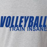 Train Insane Volleyball T-Shirt | Volleyball.Com