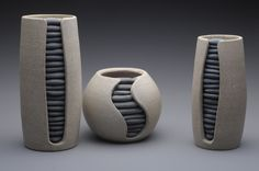 One of a kind works in clay