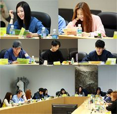 """Yoo Seung Ho Gets Together With Co-Stars At """"Imaginary Cat"""" First Script Reading 