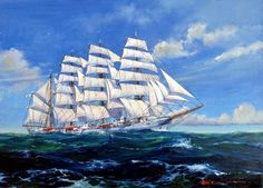 Sailing Ship 05 by temma22.deviantart.com on @deviantART