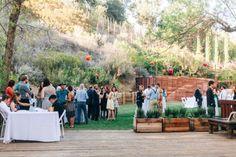 http://socalweddingconsultant.com Southern California Wedding Planner Outdoor cocktail hour The 1909 Wedding Topanga
