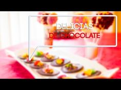 Delicias de chocolate - Chocolate a tutiplén! Fácil fácil! - YouTube