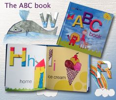 Our ABC book made out of children drawings, see it at indiegogo/funstoria