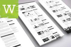 Premium Fashion WordPress Blog Theme by Wordica on ETSY