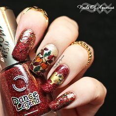 Nails of Aquarius: The Golden ummm Turkey: Thanksgiving Nail Art Design