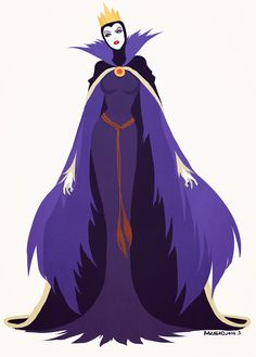 make yellow cape (or black, if we don't use it for Maleficent) into shift dress. Lay over purple and sparkling black. Already have black sparkly cowel, add crown.