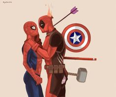 Spideypool tumblr