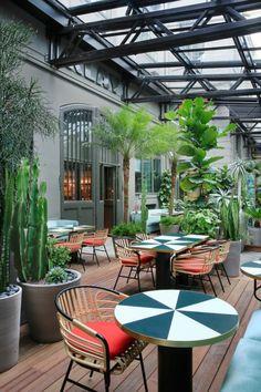 Ресторан и терраса Klay от Шарлотты Бильтжан