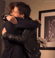 Benedict Cumberbatch and Eddie Redmayne TIFF2014