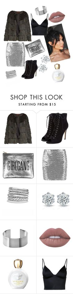 """""""#NYC night out"""" by monique-michelle-1 ❤ liked on Polyvore featuring Missoni, Sarah Baily, David Yurman, Maria Dorai Raj, Lime Crime, Versace and T By Alexander Wang"""