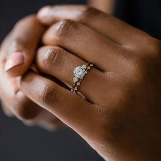 Cute Engagement Rings, Petite Engagement Ring, Ring Verlobung, Wedding Sets, Dream Wedding, Vintage Wedding Ring Sets, Dream Ring, Gold Set, Or Rose