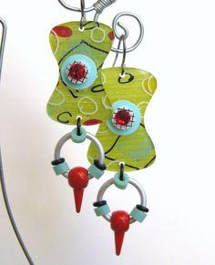 Groovin Earrings by droolworthy on Etsy, $20.00