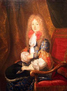Herzogin von Orléans, geborene Liselotte von der Pfalz aus der Wittelsbacher Linie Pfalz-Simmern - 1673
