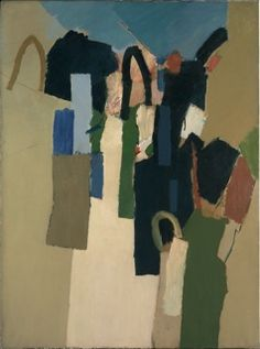 Keith Vaughan: The Mature Oils Contemporary Landscape, Abstract Landscape, Landscape Paintings, Abstract Art, Oil Paintings, Camberwell College Of Arts, Safari, Antique Fairs, Collage