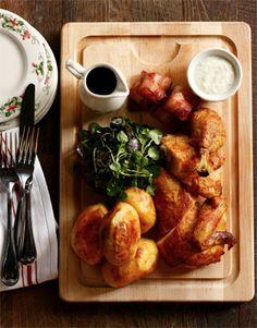 The Dandelion's Sunday Roast Chicken (Photo courtesy The Dandelion) - decor is charming.  starr restaurants are so detailed.  wonderful.