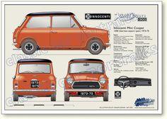 Innocenti Cooper 1300 (German export spec) 1973-75
