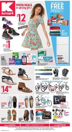 Kmart Weekly ad March 26 - April 1, 2017 - http://www.olcatalog.com/grocery/kmart/kmart-weekly-ads.html