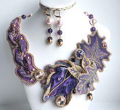 Beautiful Bead Jewelry Designs by Maria Vukolova Goldfish featured in Bead-Patterns.com Newsletter!