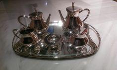 Juego Café / Té de alpaca plateada - http://vaciatrasteros.com/ad/juego-cafe-te-alpaca-plateada/
