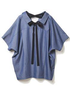 【ドロシーズ/DRWCYS】のフレンチスリーブバックリボンシャツ レディースファッション・服の通販 founy(ファニー) ファッション Fashion レディース Women トップス Tops Tshirt シャツ/ブラウス Shirts Blouses 関連、ワード Tags オフショルダー スキッパー スリーブ フレンチ リボン グログラン デコルテ バックリボン ゆったり フレンチスリーブ ネイビー|ID:329100000036113