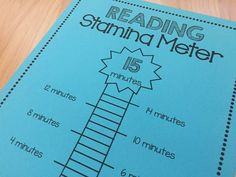 #ReadingStamina How long you can you read for in #FirstGrade? Love this.