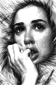 Raw Emotions 1282 Digital Art by Rafael Salazar