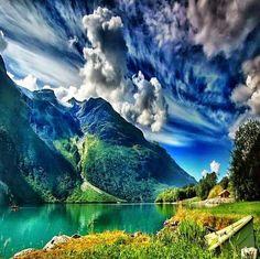 Summer in Norway - Lake Leon, Stryn, Western Norway
