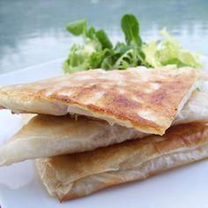 Légèreté & Gourmandises: Brick au thon et comte (6 PP)