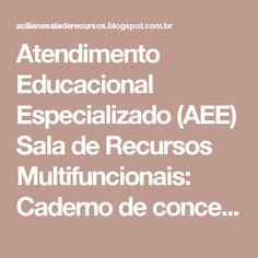 Atendimento Educacional Especializado (AEE) Sala de Recursos Multifuncionais: Caderno de conceitos