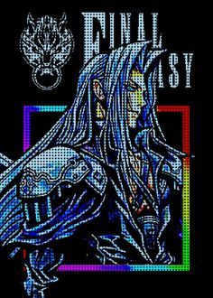 18 Best Final Fantasy Character Pixel Art Displate Posters