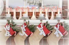 Thrift My House: My Christmas Mantel