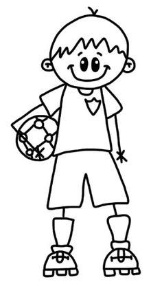 Football - digi stamp free